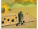 Обычная и самая привычная игра Сапер, только во флеш. Нужно вычислить в каких квадратах сетки бомб нет и открыть все такие клетки !