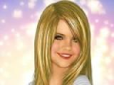 В этой игре Вам предстоит стать личным визажистом и стилистом известной телеведущей Селены Гомес. Вы должны подобрать ей прическу и макияж. Использовать тени и блеск для губ так, что бы она стала еще красивее.