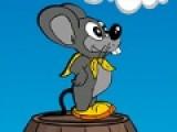Эта красочная игра подойдет для детей и не только.  Увлекательная бродилка, в которой Вам предстоит помочь мышонку собрать как можно больше сыра, при этом не попасть в ловушки. Используйте стрелочки, что бы мышонок мог ходить и прыгать по грибочкам.