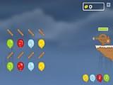 У Вас есть баллиста и ограниченный запас стрел. Вам нужно сбивать шарики нужных цветов в указанном количестве для перехода на новый уровень!