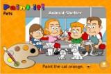 Перед тобой шесть домашних животных. Постарайся раскрасить их в правильные цвета.