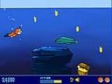 Помогите Тедди собрать как можно больше монеток и сундуков с сокровищами, избегайте столкновений с подводными скалами, рыбами и падающим сверху мусором, а также не забывайте время от времени всплывать к поверхности, чтобы пополнить запас воздуха.