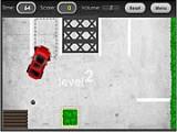 Учимся парковаться правильно и без ущерба для окружающих. У Вас есть: автомобиль, паковочная площадка и определенный запас времени. Вам будут мешать всевозможные бордюры и маленькое, ползающее существо.