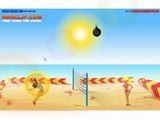 Пляжный волейбол с бомбой! Позволив упасть бомбе на землю, вы теряете немного жизни, поэтому старайтесь всегда отбивать ее в прыжке. А тем, кто пройдет все пять раундов, разработчики обещают сюрприз!