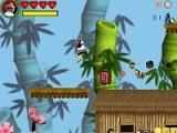 Панда по имени Бушидо отправляется в полный опасностей путь. Помоги герою разобраться с врагами, найти все бонусы и дойти до конца этой красочной и увлекательной игры.