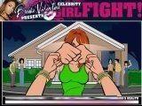 Девчачьи бои - так переводится эта игра. Выберите персонажа и вступайте в бой с хитроумным противником.