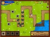 В этой интересной игре в стиле Tower Defence вы тренируете героя, с которым должны пройти ряд локаций, в каждой из которых Вам предстоят схватки с врагами, строительство башен и защита замка от вторжения.
