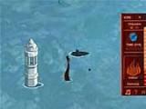 В этой игре вы будете играть за принца Зуко, который хочет завоевать племена воды и земли. Управляйте движением лодки с помощью стрелок на клавиатуре, выбирайте деревню, подбирайтесь к ней и начинайте атаку, нажав Enter.