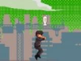 Oppa Gangnam Run - эта прикольная игра героем которой стал самый известный корейский репер. Его музыка разбудила бешеного монстра, и он пытается догнать певца. Помогите герою убежать от монстра.