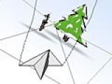 Эта игра подойдет тем, кто любит летать и хорошо ориентируется в трехмерном пространстве. Ведь не смотря на то что самолет бумажный он прекрасно стреляет и требует точного управления.