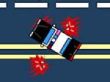 Постарайся за 90 секунд задавить как можно больше пешеходов,которые хаотически бегают по проезжей части.