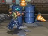 Красочный и динамичный шутер перенесет Вас в мир кровожадных зомби и бродилок по лабиринтам затерянного здания. Постапокалиптичный сюжет и кровавый дизайн порадует любителей остросюжетных приключений. В этой игре Вы должны убивать зомби и собирать ключи, что бы покинуть опасную территорию. Управление игры очень простое и понятное. Используйте стрелки для передвижения вашего героя в пространстве, пробел отвечает за прыжки. Для того, что бы использовать оружие нажимайте кнопки Z и X на Вашей клавиатуре, но помните, запас патронов ограничен. Для того, что бы совершить какое либо действие, например, поднять новое оружие или войти в дверь, используйте кнопку A. Обратите Внимание, что некоторые двери, которые не видны персонажу, отмечены красными указателями в нижней части игрового поля. Если Вы готовы перенестись в мир игры, не медлите! Стрелялки и кровожадных драки ждут Вас на улицах переполненных Зомби.