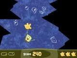 Помогите Спанч-Бобу подняться на поверхность океана. Остерейгайтесь подводных скал!