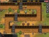 В этой стратегической игре в стиле защиты замка, Коммандо должен предотвратить вторжение целой армии врага. В одиночку ему это сделать сложно и ему сбрасывают на парашютах запчасти для постройки башен для уничтожения солдат, танков и авиации.