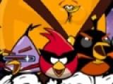 Злые птицы так популярны, что появляется все больше игр с их участием. Например эта игра написана по принципу классической игры пузыри. Цель уничтожать птиц стреляя в них из космической пушки.