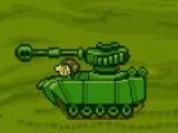 Перед тобой интересная стрелялка, в которой твоя цель отбить атаку мощных танков. Используй свои мощные пушки, что бы стрелять в танки и уничтожать их.