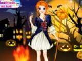 Помогите девочке подготовиться к хеллоуину. На празднике у нее должен быть самый необычный наряд. Платье это или костюм - любая одежда должна отвечать тематике праздника.