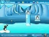 Все на спасение пингвинов! Кому-то опять, похоже, нечего делать, и он заморозил пингвинов в лёд. Вся надежда на их спасшегося собрата. Удастся ли ему вызволить из ловушек ВСЕХ пингвинов, ведь запас снарядов ограничен?