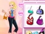 Отличная игра для девочек, которые любят одевалки и модные наряды. Цель игры одеть девочку и подобрать для нее прическу и модные аксессуары. Или же наоборот повторить образ предложенный стилистом подобрав одежду по памяти из разнообразного гардероба.