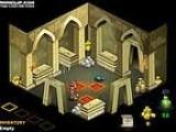 Путешествие по коридорам древнеегипетских пирамид в поисках гробницы фараона. По пути не забывайте собирать золото и разные полезности. Управление стрелками, переключение предметов - a, z.