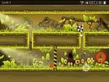 Странное пучеглазое колесо хочет добраться до портала, который является выходом на новый уровень. Помогите ему достичь его цели, перетаскивая героя по уровню, телепортируя его в пределах уровня и остерегаясь различных пропастей и ловушек.