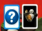 Это отличная игра развивающая Вашу память. Что бы пройти уровень, необходимо открывать перевернутые карты с изображением героев мультфильма Панда Кунфу. Если Вы откроете две одинаковые карты, они исчезнут с игрового поля. Ваша задача убрать все карты с игрового поля.