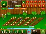 В Вашем распоряжении грядки огорода. Покупайте рассаду, вскапывайте и поливайте участки, выращивайте и собирайте урожай. На заработанные деньги можно приобретать новые виды растений, а также украшать Ваш огород всякими декоративными вещицами!