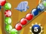 Перед Вами игра, которая напоминает классическую зумму. Твоя задача не дать цветным шарикам добраться до конца лабиринта. Что бы это сделать, стреляй шарами из пушки. Когда больше трех шариков одного цвета соберутся в линию, они лопнут как пузыри.