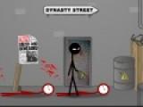 В игре Dynasty Street Fight тебе предстоит сразиться с большим количеством врагов. Место сражения - это улицы твоего родного города. Не дай негодяям поразить тебя. Используй все боевые приемы, которые только знаешь.
