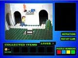 Исследуйте мир Лего, решайте загадки и головоломки, собирайте пазлы в этой очень креативной игре с очень необычной графикой!