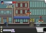 Помогите Бэтмену справиться со всеми преступниками в Готхэм сити. Вы будете прыгать, летать, скользить и парить по улицам города. Используйте бумеранг и различные виды ударов по врагам. Следите за здоровьем, находите аптечки. Удачи!