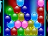 В этой игре Вам предстоит лопать шарики. Причем делать это нужно очень быстро. Если игровое поле заполнится доверху, Вы проиграете. Что бы шарики лопнули, необходимо нажимать левой кнопкой мыши на группы шариков одного цвета.