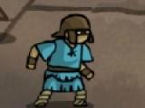 В этой игре ты станешь настоящим гладиатором. Тебе придется сражаться на арене с сильными противниками. За бой ты будешь получать деньги, за которые сможешь купить более мощное оружие. И пусть Боги арены тебе помогут!