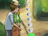 Это не спортивная игра про гольф, хотя мяч и клюшка будут присутствовать. Это игра для девочек про любовь и поцелуи. Цель игры целоваться, пока вас никто не видит, но еще так же важно забить мячик в лунку, что бы не вызвать подозрений у окружающих.