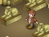 Помогите путешественнику собрать все возможные артефакты и золотые монеты в гробнице фараона, которая таит в себе множество ловушек и опасностей.