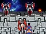 Эта космическая игра леталка перенесет Вас в мир космических войн и сражений. Ваша задача отбить атаку роботов и уничтожить их ракетные установки. И помните, что Ваша броня не выдержит долгой атаки, потому Вам придется маневрировать между вражескими снарядами.