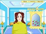 В этой игре Вам понадобится хорошая память. В начале Вам покажут образ девушки, стиль которой Вам придется повторить, основываясь на Ваших способностях профессионального парикмахера!