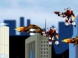 Игра Armor Hero Metal Slug X это своеобразная леталка стрелялка, которая превратит тебя в супергероя. Твоя задача остановить вторжение космических роботов. Что бы управлять полетом используй свою мышь. Для выстрелов делай щелчек левой кнопкой. Собирай бонусы на своем пути. Они модернизируют твое оружие. И помни, не смотря на то, что ты супергерой, ты не бессмертен. Потому уворачивайся от вражеских снарядов.