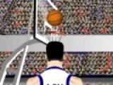 Захватывающая игра перенесет всех любителей баскетбола в мир мячей сеток и прицельных бросков. Цель этой спортивной игры забросить как можно больше мячей в сетку. Для этого нужно нажимать на кнопку Shoot, которая расположена прямо под индикатором мяча. Выбери правильное направление, что бы попасть в корзину.