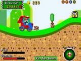 В этой игре Марио взял в свои руки управление мощным грузовиком и отправился спасать принцессу из лап злодеев. Помогите ему уничтожить всех врагов, используя специальные предметы и апгрейды своего транспортного средства.