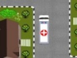 Водитель скорой помощи должен в совершенстве управлять автомобилем. К тому же парковка должна быть быстрой и без столкновений с окружающими предметами. Сможете ли вы пройти экзамен на водителя скорой помощи?!
