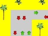 В данной игре вы находитесь на пляже города Майами. Вам в распоряжение отдали маленький желтый квадратик. Цель игры будет заключаться в том, чтобы постараться пройти как можно большее расстояние.