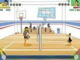 Хороший утиный волейбол с несколькими видами ударов, где вам выпала честь играть за знаменитого мультгероя Даффи.