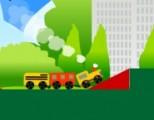 Помоги поезду добраться до депо без происшествий. Вы должны убрать с его пути все преграды и создать наилучшие условия для его передвижения! Занимательная физическая игра!