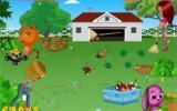 В этой игре Вы должны помочь девочке справиться с уборкой дома и двора! Работы предстоит много и Ваша помощь крайне необходима!