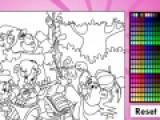 Герои известного мультсериала теперь появились и в интересной игре раскраске. Проявите фантазию и разукрасьте картинку как можно ярче и красивее.