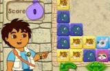 В этой игре Вам нужно помочь Диего разобраться с хитрыми головоломками в египетской пирамиде!