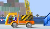 Вам выпал удачный шанс поработать докером в порту! В вашем распоряжении мощный подъемный кран и контейнеры с грузом, которые Вы должны погрузить в нужном порядке на борт отплывающего судна.