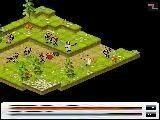 Еще одна из версий стратегической игры про защиту замка. Расставь своих фантазийных защитников та, что бы мимо них ни один враг не прошел мимо.