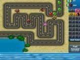 Ещё одна игра из серии Bloons Tower Defense. Защитите замок от воздушных шаров. Новые уровни, новые виды оружия, новые боевые обезьянки!